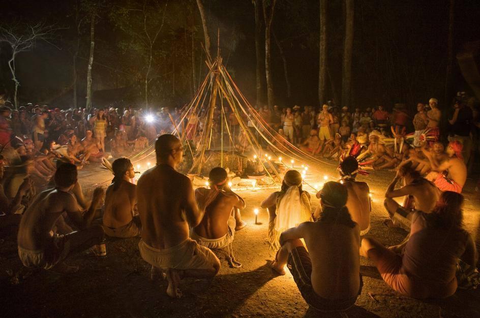 VENEZUELA  Lo spiritismo dei medium sciamani della Montagna Sacra di Sorte  Gennaio 2017