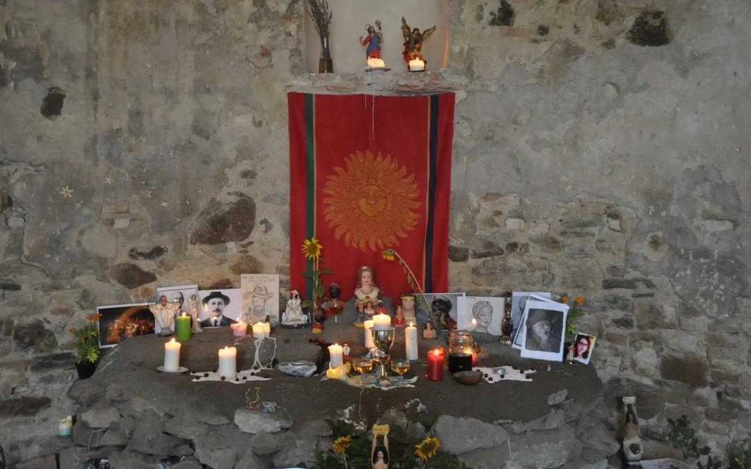 Dicembre 2017 – Campo in Italia di sciamanesimo con   Jessika Chirinos