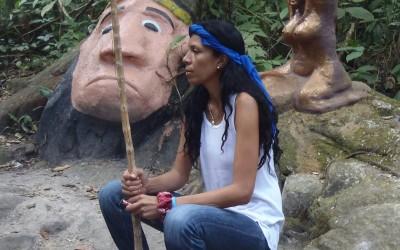 Luglio – Agosto 2018 Campo in Italia di sciamanesimo con la medium Jessica della Montagna Sacra di Maria Lionza del Venezuela